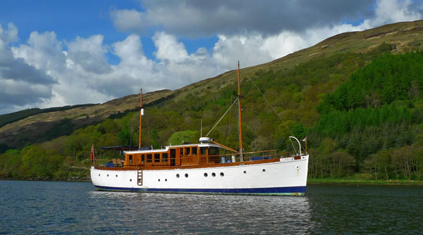 Photograph of Chico in Loch Striven