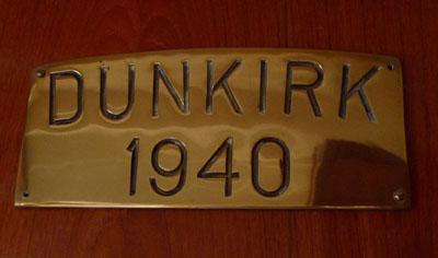 Chico Dunkirk's Plaque