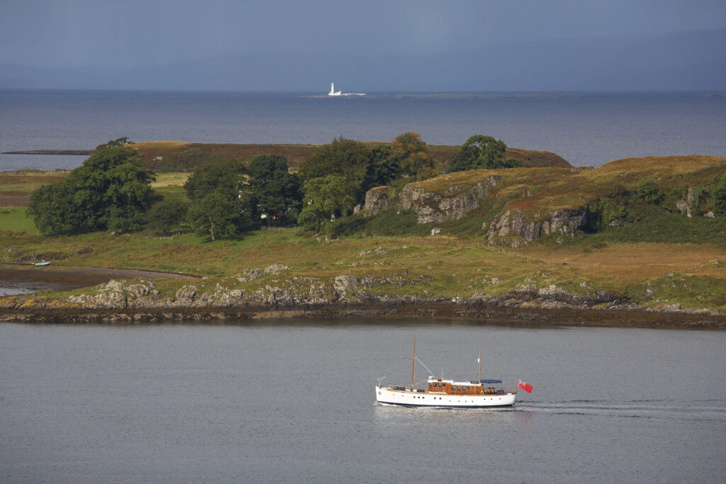 Chico, Kerrera and Lismore Lighthouse